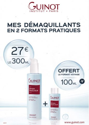 Promo démaquillants Auzeville-Tolosane