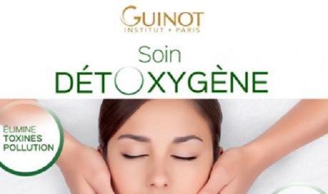 Nouveau Soin Visage Détoxygène Guinot dans votre institut de beauté Auzeville-Tolosane